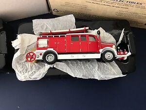 Matchbox Collectibles 1938 Mercedes KS15 Fire Truck YFE07-M