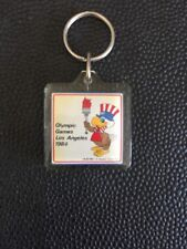 LOS ANGELES 1984 OLYMPIC GAMES OFFICIAL KEYCHAIN