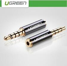 Ugreen 3.5mm Male Jack to 2.5mm Female Stereo Headphone Audio Adapter 24k Gold