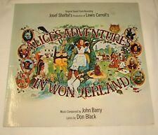ALICE'S ADVENTURES IN WONDERLAND - LP - SOUNDTRACK - JOHN BARRY