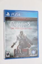 PS4 Sony PlayStation 4 ASSASSINS CREED THE EZIO COLLECTION NEW SEALED SHIPS FREE
