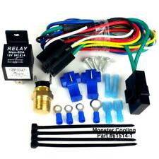 Ford Mercury Radiator Fan Relay Wiring Kit, Works on Single/ Dual Fans,Pre Set