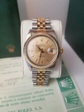 Rolex Datejust 18k Two-Tone Jubilee Bracelet 36MM with Box/Papers & Card Holder