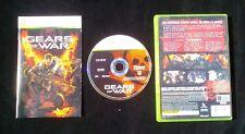 GEARS OF WAR : JEU Microsoft Xbox 360 (version française COMPLET envoi suivi)