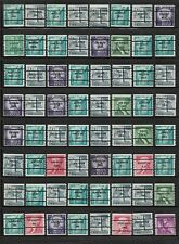 US Precancels: 1954 Liberty Coils; Bureau Issues; MNH; 173 Different Singles
