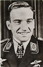 Hans Ulrich Rudel Most Highly Decorated German Serviceman WW II Autograph 'Rare'