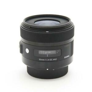 Secondhand Sigma 30Mm F1.4 Dc Hsm For Pentax Lens