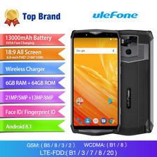 "Ulefone Power 5 Smartphone Android 8.1 Octa Core RAM 6GB Display 6"" FHD 13000mAh"
