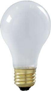 6 Pack Satco S3928 75 Watt Shatterproof Safety Coated Rough Service Light Bulbs