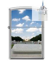 Zippo 200 world war II memorial Lighter & Z-PLUS INSERT BUNDLE