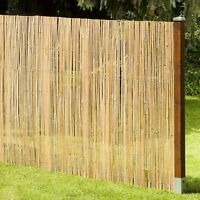 Sichtschutz MACAO Bambusmatte Bambus Garten Zaun Windschutz Garten 180x500 cm
