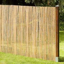 Brise-vue MACAO Natte de Bambou Clôture jardin coupe-vent 180x500 cm