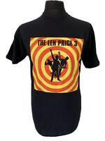 FOTL The Len Price 3 Three Black Rock Music Graphic Print Gig Tee T-Shirt M RARE