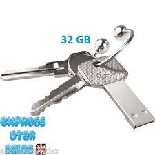 ✸ Silver LaCie 32GB ✸ Key Design ✸ USB Flash Drive ✸ BRAND NEW ✸ FREE P&P
