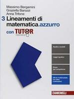 Lineamenti di matematica.azzurro con tutor vol.3 ZANICHELLI scuola 9788808833495