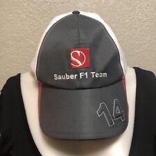 F1 Cap Kamui Kobayashi Sauber 2012 Preowned Hat white Gray Collectors