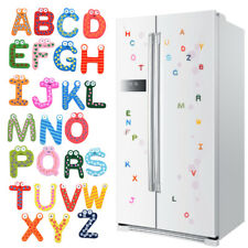 26 Letters Kids Wooden Alphabet Fridge Magnet Child Educational Toy