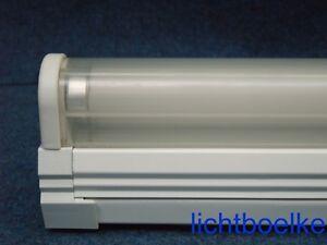 Lichtleiste  Leuchtstofflampe 18W Deckenlampe Fassung mit Abdeckung Neonröhre