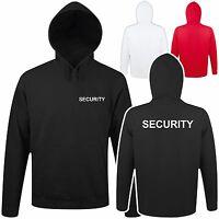 Kapuzen Pulli Pullover Security Order Sweat Shirt Sicherheit Türsteher