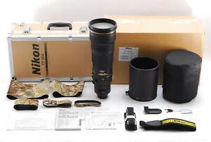 【MINT+++】Nikon Nikkor AF S 500mm f/4 G Ed VR Lens From JAPAN