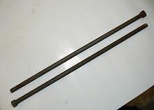 "1/2""-13 x 18"" Square Head Machine Bolt - Plain Steel Finish - Lot of 5 Pcs"