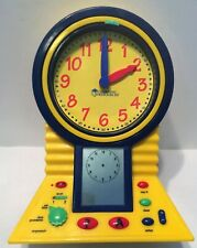 Learning Resources Talking Clever Clock Working in Great Condition FREE SHIPPING