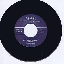 JIMMY GRUBBS - LET'S ROCK TONIGHT / YOU'RE GONE (KILLER GUITAR ROCKABILLY BOPPER