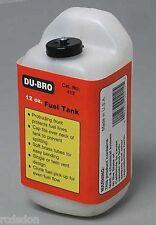 Dubro Du-Bro 12 oz Square Fuel Tank w/ Protruding Front  DUB412