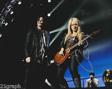Orianthi Signed 8x10 Photo w/ AWESOME PROOF & COA #4 Michael Jackson This Is It
