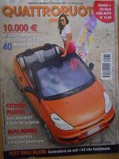 Quattroruote 572 2003 Alfa Romeo supersportiva a trazione posteriore   [Q51]