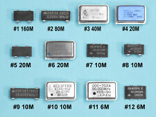 (12) pc 6-Band Low Power QRP HAM TRANSMITTER Assortment (from 160 to 6 Meters)
