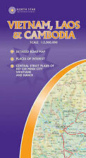 Vietnam, Laos and Cambodia by North Star International (Sheet map, folded, 2003)