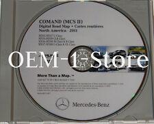 MERCEDES COMAND MCSII NAVIGATION CD DVD NAV GPS MAP BQ 6 46 0264 2011 UPDATE 8.0