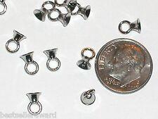 2pc Metal Hoop Hook bails Charms pendants findings craft beads New sp004