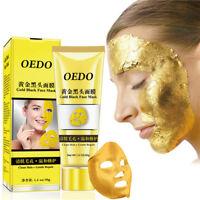 OEDO Women's Ladies Gold Remove Blackhead Mask Pore Skin Rough Acne FaceMask