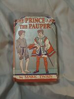 THE PRINCE AND THE PAUPER by Mark Twain 1909 Grosset & Dunlap **Wartime Print**