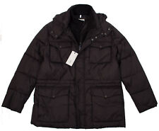 COLE HAAN SIGNATURE MEN'S XL BLACK PUFFER JACKET COAT WITH REMOVABLE HOOD