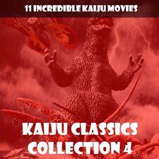 KAIJU CLASSICS 4 🎬 11 CLASSICS WITH GODZILLA, MOTHRA, GORGO AND MORE 📽️