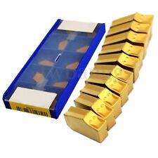 10x 3N11-1E (SP300) ZQMX GTN-3 3mm Cut-Off Grooving Carbide Inserts For CNC Tool
