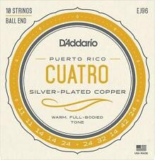 More details for d'addario ej96 cuatro-puerto rico strings