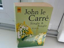 BUCH SINGLE & SINGLE JOHN LE CARRE  KRIMI THRILLER ROMAN TASCHENBUCH BOOK !!!!!!