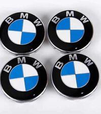 4x Cache Moyeu Jante Centre De Roue  BMW 68mm Neuf