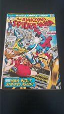 1973 Marvel Comics Amazing Spider-Man #125 Origin Of Man-Wolf Vf Flat Rate S/H