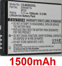 Battery 1500mAh type BF5X SNN5877A For Motorola Defy
