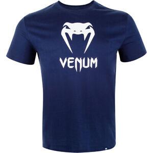Venum Kids Classic Short Sleeve T-Shirt - Navy Blue