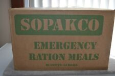 Sopakco MRE Meals Ready To Eat Case 14 Survival Emergency