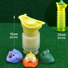 Portable Car Travel Camping Child Kids Baby Pee Toilet Potty Emergency Urinal_GG