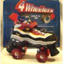 size 8.5 ladies SONIC SKECHERS 4 WHEELER ROLLER SKATES skate quad derby womens