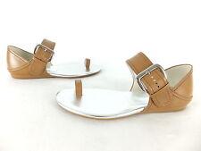 HOGAN Sandale - 36,5 - braun - neu mit Karton - mit Schnalle - Zehen Sandalette