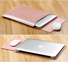 """PU Leather Sleeve Case Flip Pad Cover For Macbook Pro Air 11 13""""15"""" Retina 12"""""""